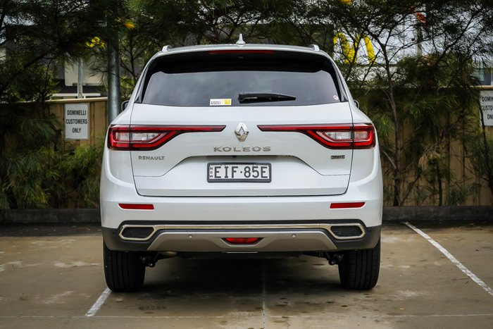 2020 Renault Koleos Intens HZG MY20 Four Wheel Drive Universal White (Metallic)
