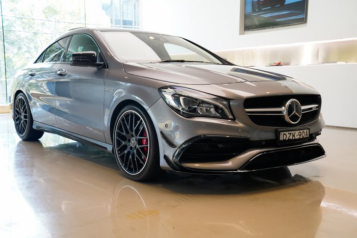 2018 Mercedes-Benz CLA-Class CLA45 AMG C117 Four Wheel Drive GREY