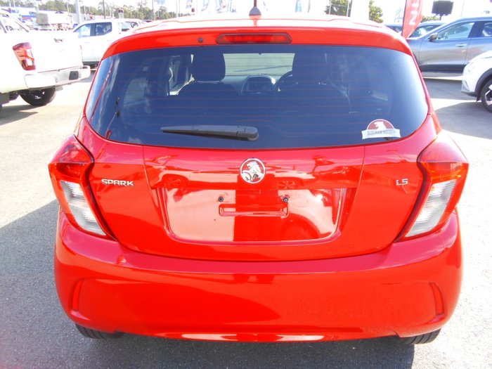 2016 Holden Spark LS MP MY17 RED