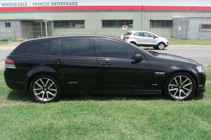 2012 Holden Commodore SS V VE Series II MY12 BLACK
