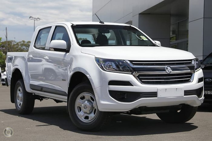 2019 Holden Colorado LS RG MY19 4X4 Dual Range White