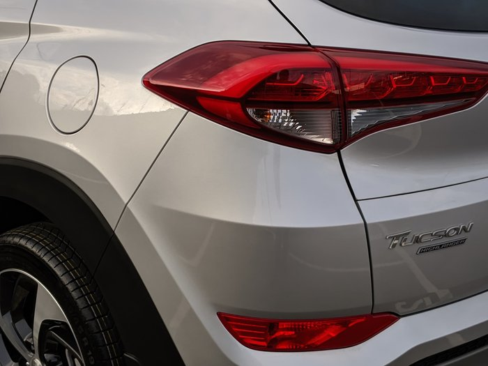 2018 Hyundai Tucson Highlander TLE2 MY18 4X4 On Demand Silver