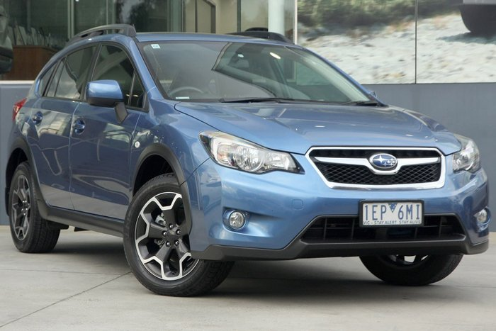 2015 Subaru XV 2.0i-L G4X MY15 Four Wheel Drive Blue