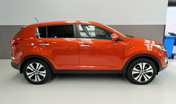 2013 Kia Sportage Platinum SL Series II MY13 4X4 On Demand Orange