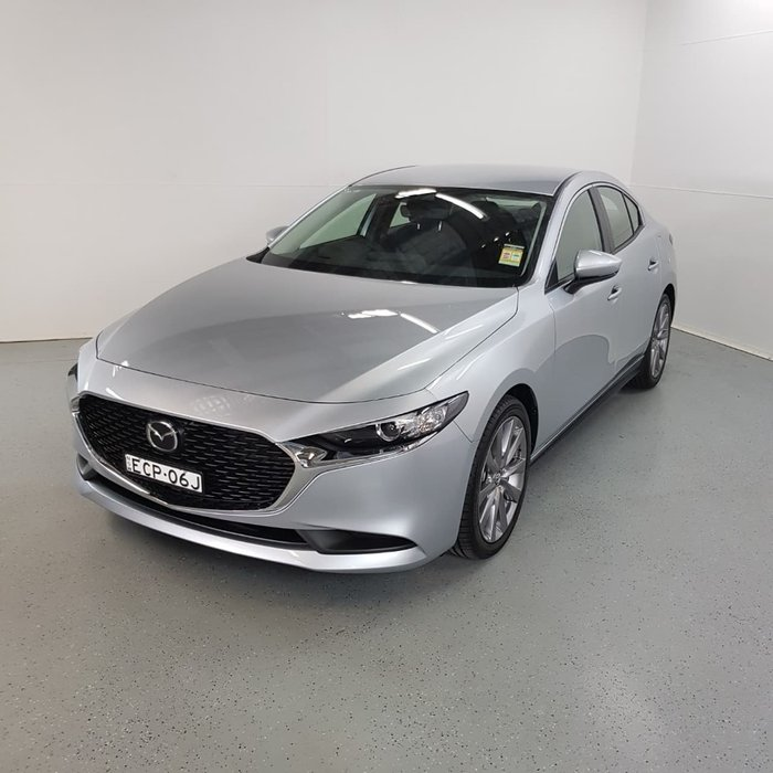 2019 Mazda 3 G20 Evolve BP Series Silver