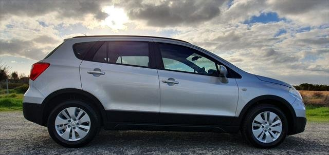 2014 Suzuki SX4 Crossover GYA MY13 Four Wheel Drive Silver