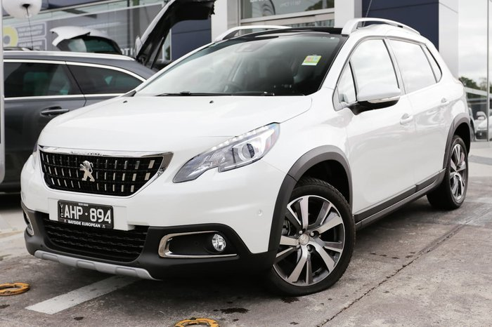 2017 Peugeot 2008 Allure A94 MY18 White