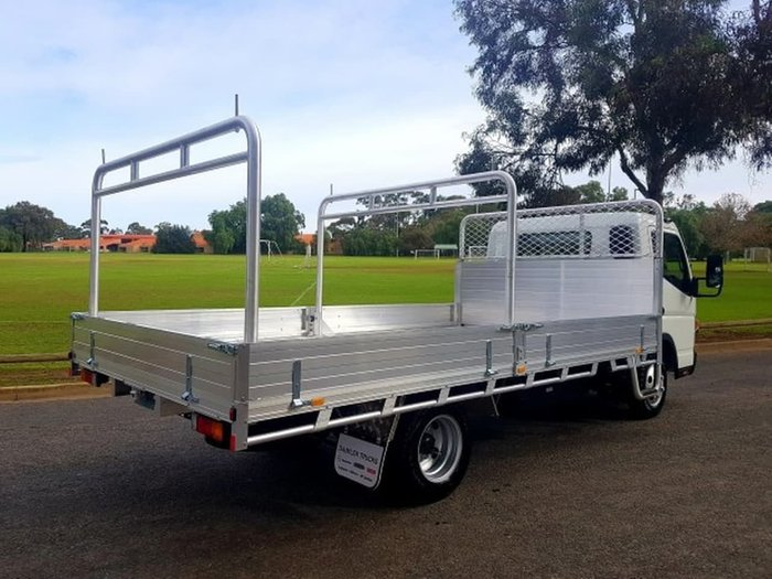2019 FUSO CANTER 515 MAN WIDECAB BUILT READY ALLOY TRAY *CAR LICENCE* null null White