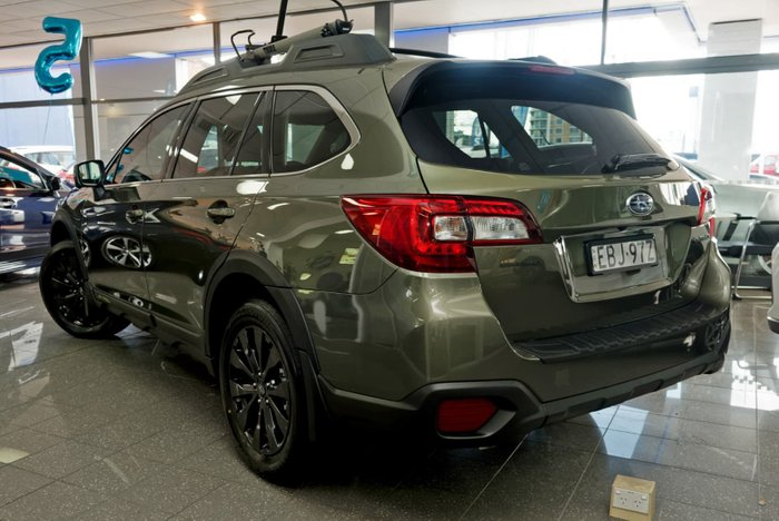 2019 Subaru Outback 2.5i-X 5GEN MY19 Four Wheel Drive Green