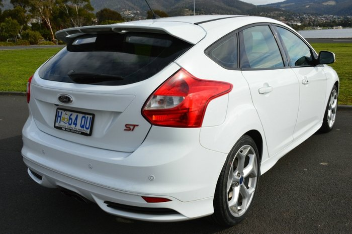 2012 Ford Focus ST LW MKII WHITE