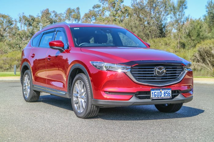 2018 Mazda CX-8 Asaki KG Series 4X4 On Demand Red
