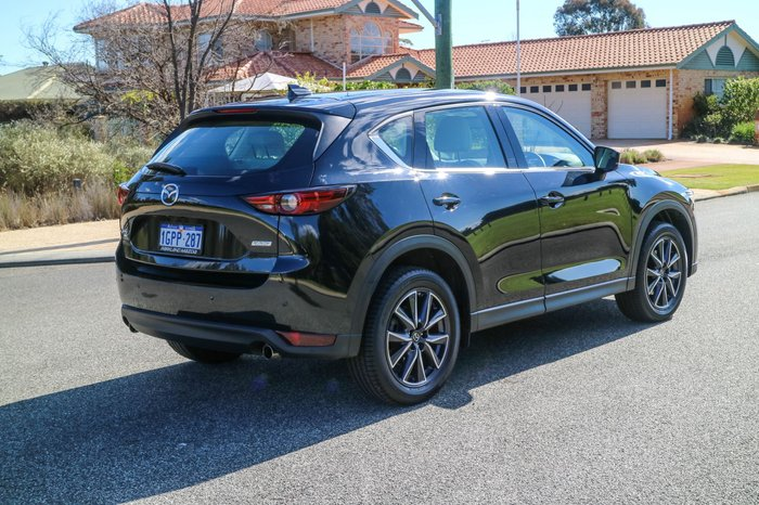2018 Mazda CX-5 GT KF Series 4X4 On Demand Black