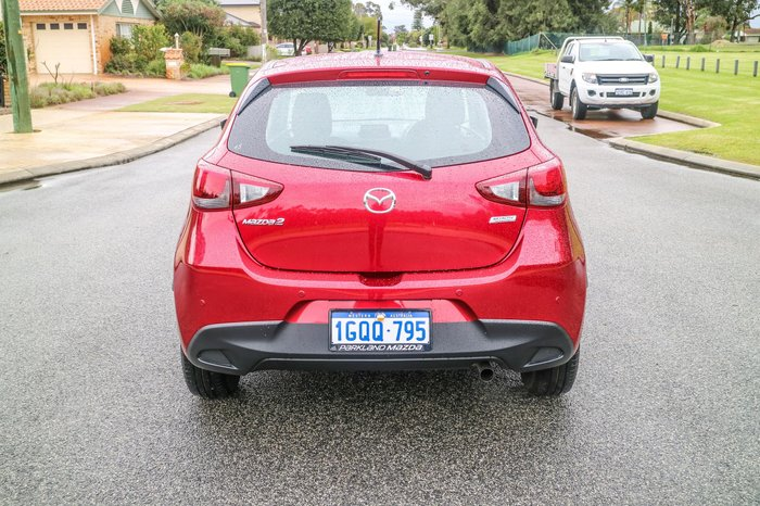 2018 Mazda 2 Neo DJ Series Red