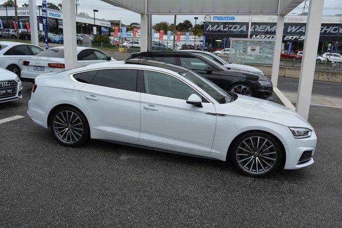 2018 Audi A5 sport F5 MY18 White