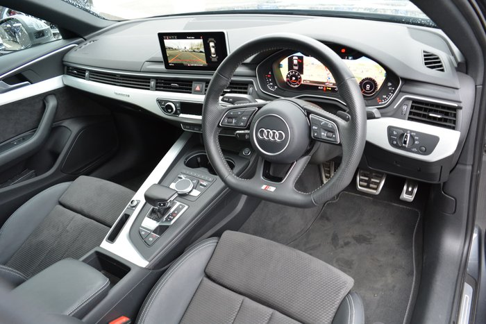 2018 Audi A4 S line B9 MY18 Four Wheel Drive Grey