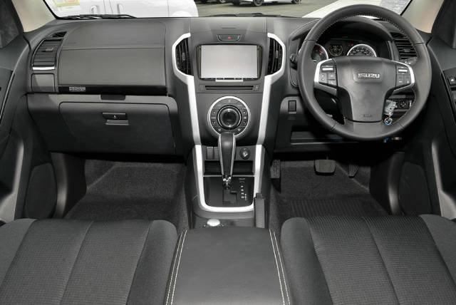 2019 Isuzu D-MAX LS-U MY19 4X4 Dual Range COSMIC BLACK