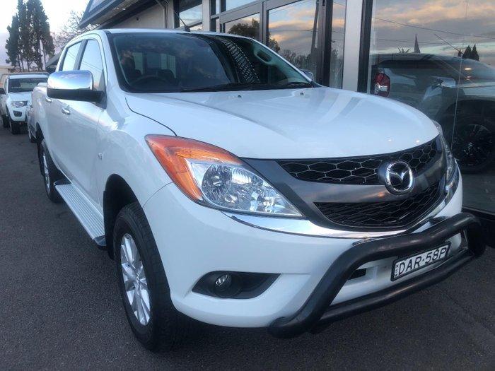 2015 Mazda BT-50 GT UP0YF1 White