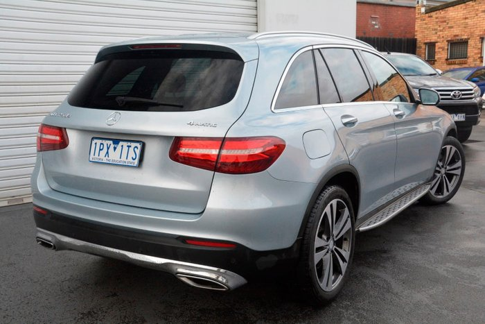 2016 Mercedes-Benz GLC-Class GLC250 d X253 Four Wheel Drive Silver