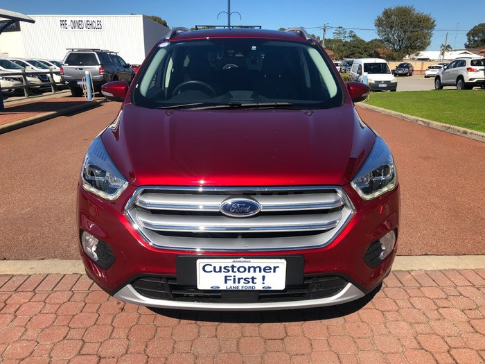 2018 Ford Escape Titanium ZG MY18 4X4 On Demand Red