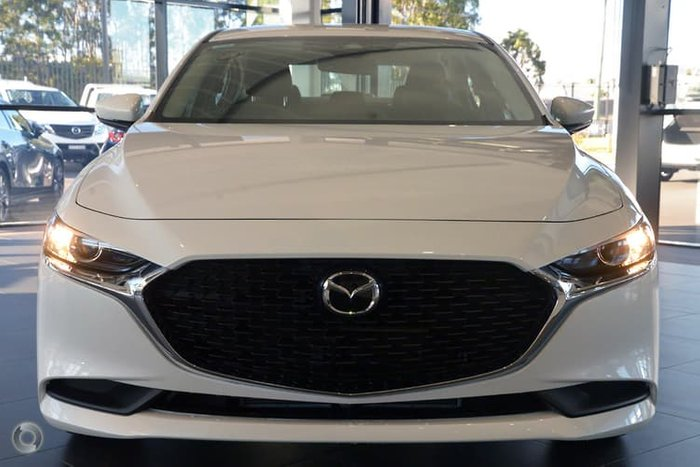 2019 Mazda 3 G20 Evolve BP Series White