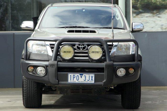 2013 Toyota Hilux SR5 KUN26R MY12 4X4 Grey