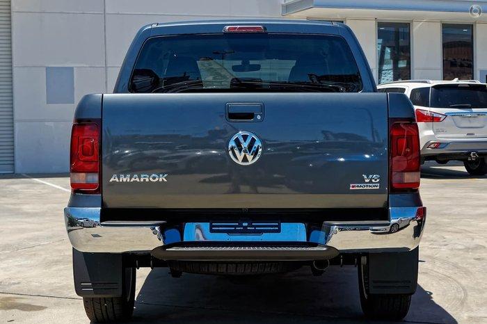 2019 Volkswagen Amarok TDI550 Sportline 2H MY19 4X4 Constant Grey