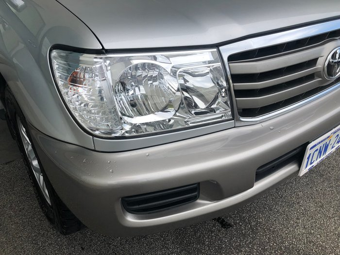 2007 Toyota Landcruiser VX UZJ100R 4X4 Constant Silver