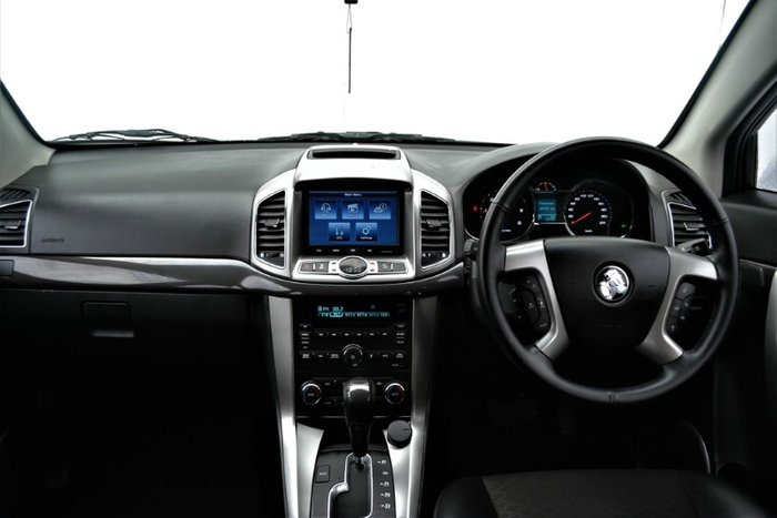 2015 Holden Captiva 7 LT CG MY15 4X4 On Demand SUMMIT WHITE