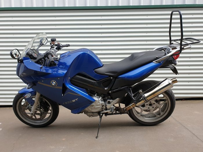 2007 BMW F 800 ST null null Blue