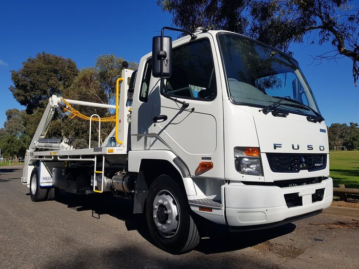 2019 FUSO FIGHTER 1224 LWB - ALLISON AUTO - BIN LIFTER null null WHITE