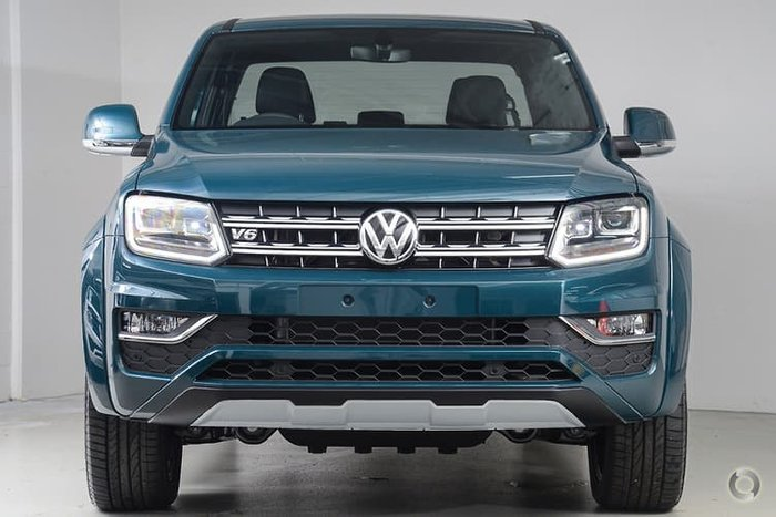 2019 Volkswagen Amarok TDI580 Ultimate 2H MY19 4X4 Constant Green