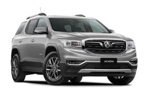 2018 HOLDEN ACADIA LTZ ACADIA LTZ 3.6 Litre V6 Petrol Auto 2WD Nitrate Silver
