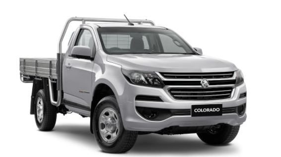 2004 HOLDEN COLORADO 4X4 SING/CAB CHAS LS MAN 2.8L TD PRESTIGE PAINT - NITRATE SILVER