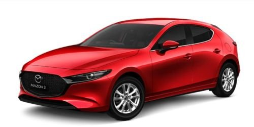 2019 MAZDA Mazda3 G20 PURE MAZDA3 N 6AUTO HATCH G20 PURE Soul Red Crystal