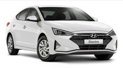 2019 HYUNDAI ELANTRA GO S.SENSE AD.2 ELANTRA SEDAN GO S.SENSE 2.0P AUTO Polar White Solid