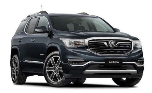 2018 HOLDEN ACADIA LTZ-V ACADIA LTZ-V 3.6 Litre V6 Petrol Auto 2WD DARK SHADOW
