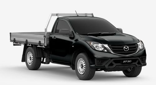 2018 MAZDA BT-50 XT BT-50 U 6MAN 2.2L SINGLE C/CH XT 4X2 Jet Black
