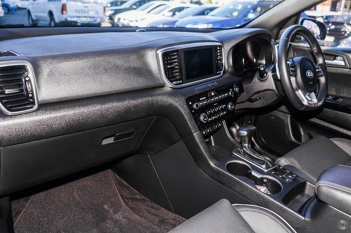 2019 Kia Sportage GT-Line QL MY19 4X4 On Demand Silver