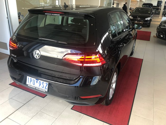 2018 Volkswagen Golf 110TSI Trendline 7.5 MY19 Black