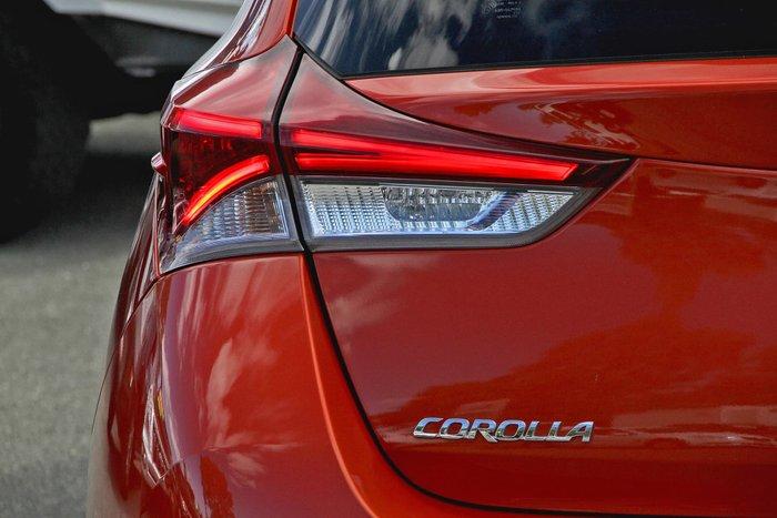 2017 Toyota Corolla Ascent Sport ZRE182R Orange