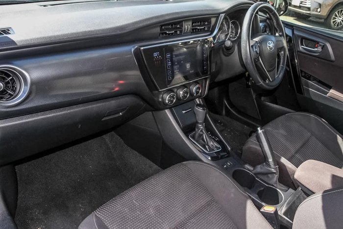 2017 Toyota Corolla Ascent Sport ZRE182R Black