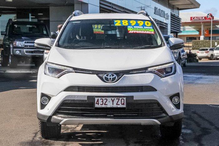 2015 Toyota RAV4 GXL ASA44R 4X4 On Demand White