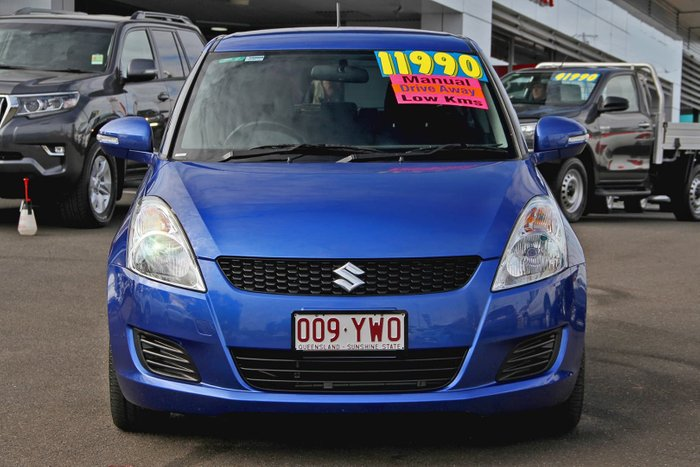 2012 Suzuki Swift GL FZ Blue