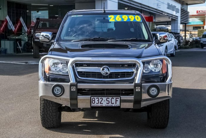 2011 Holden Colorado LT-R RC MY11 4X4 Black