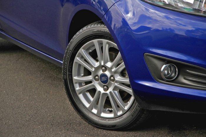 2014 Ford Fiesta Trend WZ Blue