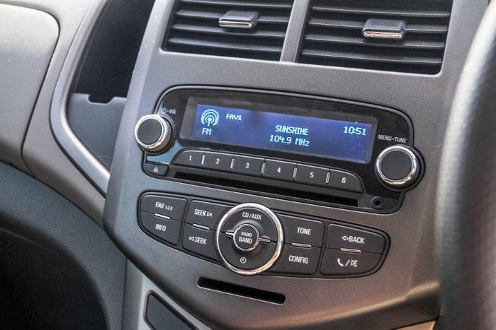 2012 Holden Barina TM Blue