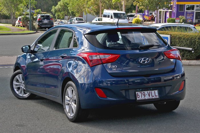 2014 Hyundai i30 Trophy GD2 MY14 Blue