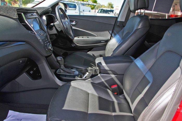2013 Hyundai Santa Fe Elite DM MY14 4X4 On Demand Red