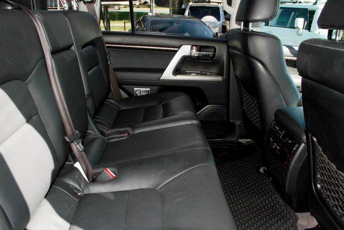 2015 Toyota Landcruiser VX VDJ200R MY13 4X4 Dual Range White