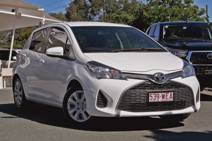 2015 Toyota Yaris Ascent NCP130R White